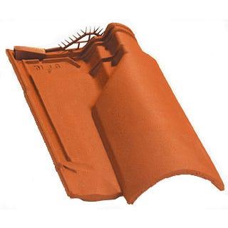 Accessoire terre cuite d'EDILIANS : Tuile de ventilation OMEGA 10 Rouge