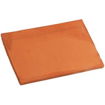 Accessoire terre cuite d'EDILIANS : Bardelis droit 20x30 Rouge