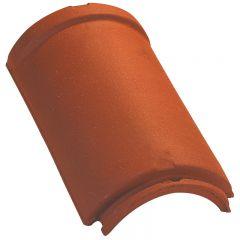 Cumbrera / tesa 1/2 redonda con borde grande modelo (2,5 por ml) Rojo