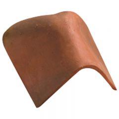 Accessoire terre cuite d'EDILIANS : Rencontre 1 faîtière angulaire, 2 arêtiers angulaires Rustique